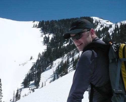 Ryders Eyewear Slipstream Sunglasses - Backcountry Skiing in Utah