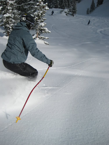 Sierra Designs Mantra Winter Pants - New for Fall 2008 - Jason Mitchell at Solitude Resort