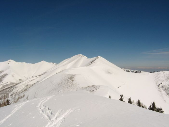 Lowe Peak in the Oquirrh Mountain Range