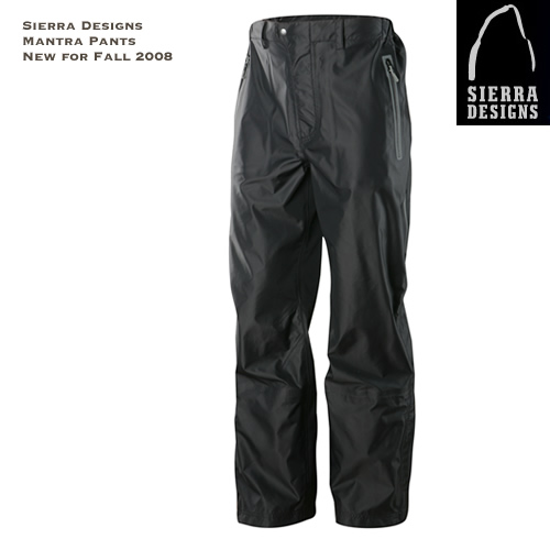 Sierra Designs Mantra Winter Pants - New for Fall 2008