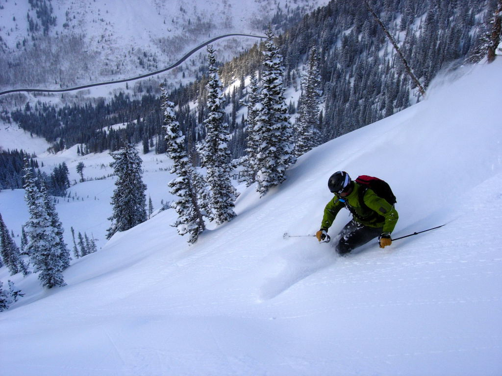 Kendall Card getting Powstash Bowl in primo mid season conditions - in April!