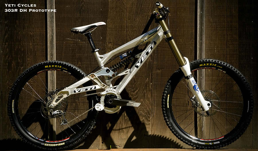 Yeti 303R DH Prototype Mountain Bike