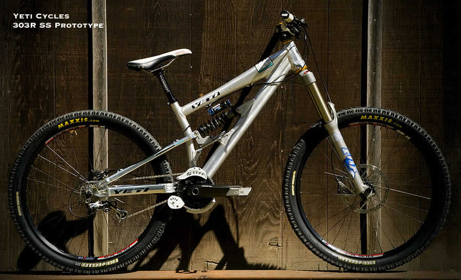 Yeti 303R SS Slopestyle Prototype Mountain Bike