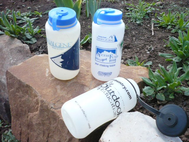 Nalgene Water Bottles - nothing like old school goodness