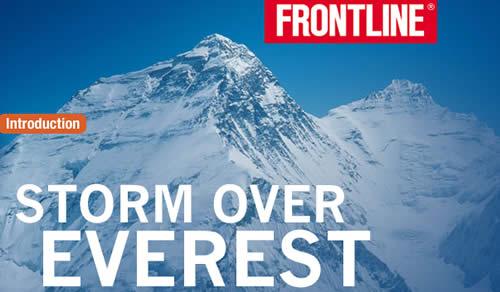 FRONTLINE - Storm Over Everest with David Breashears