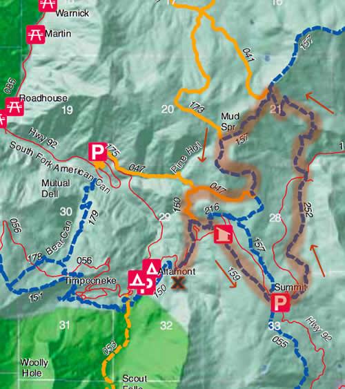 American Fork Canyon Mountain Bike Loop
