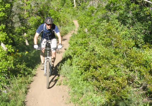 Jason Mitchell in American Fork Canyon - Rocky Mountain Slayer SXC70
