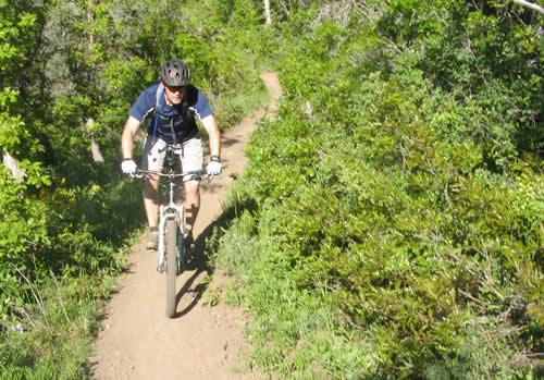 Jason Mitchell in American Fork Canyon - Rocky Mountain Slayer SXC70
