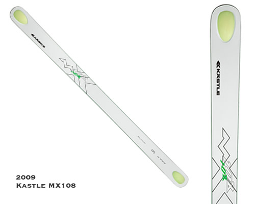 Kastle MX108 Fat Ski