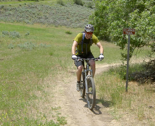 Clark\'s Trail Time Trial - Jason Mitchell on a Rocky Mountain Slayer SXC 70