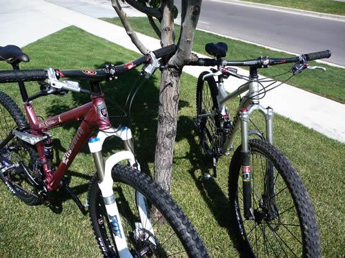 Ellsworth Evolve and Niner RIP 9 29er Bikes