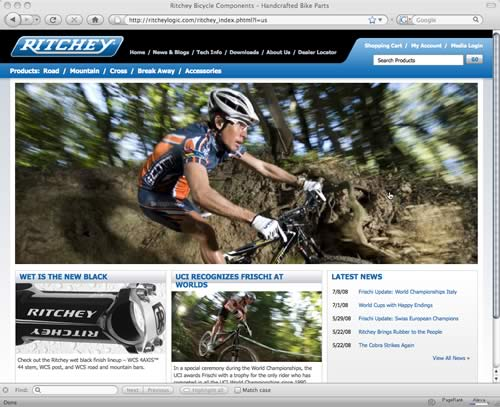 Ritchey Launches New Web Site and Online Store to Support Your LBS