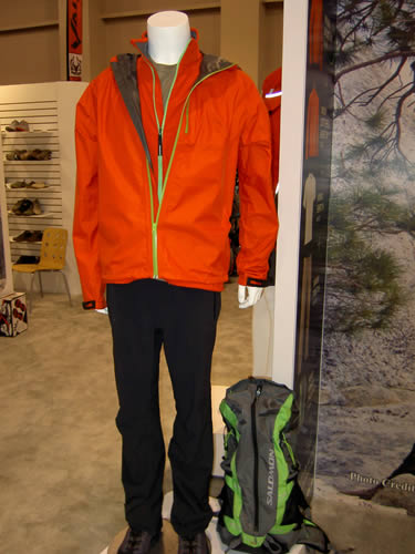Salomon Minim Package: Jacket, Softshell, Tee, Pant and Backpack