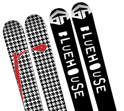 Bluehouse District Skis - 2009