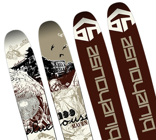 Bluehouse Maven Skis - 2009