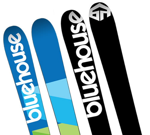 Bluehouse MR Skis - 2009