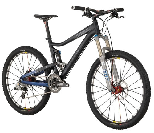 2009 Diamondback Sortie Black Trailbike