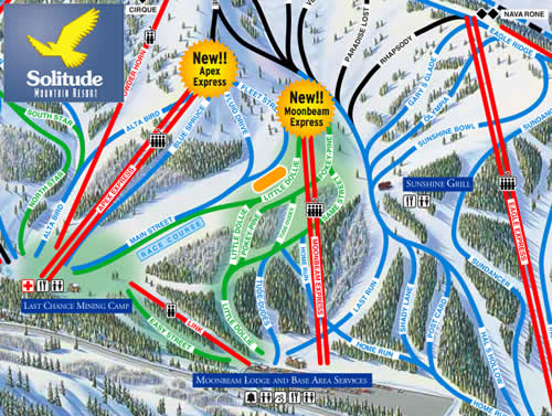 New High-speed Lifts at Solitude Mountain Resort for 2008/2009 Ski Season