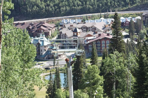 New High-speed Lifts Going in at Solitude Mountain Resort