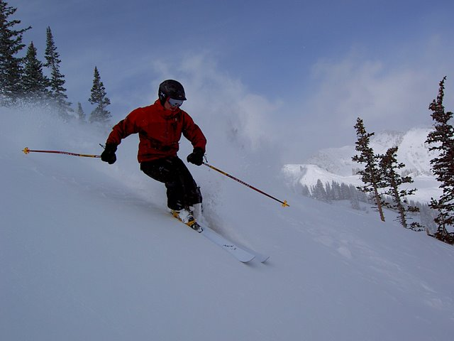 Powder Skiing at Alta Ski Area - Jason Mitchell