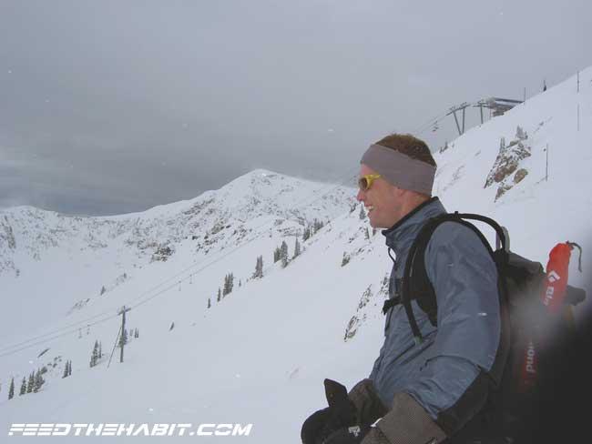 Pre-Season Skiing at Snowbird Ski Resort