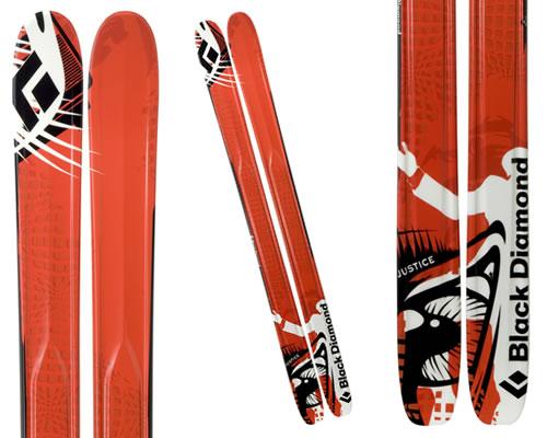 Black Diamond Justice Rockered Tip Skis