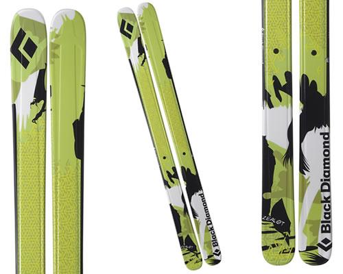 2009 Black Diamond Zealot Skis - Now With a Rockered Tip!