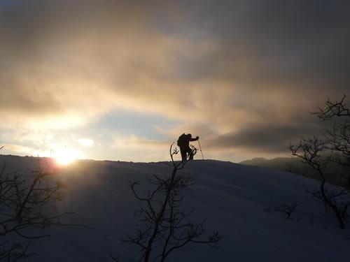 Sunrise on the Ridge of Silver Lake Flat - Ben Brutsch