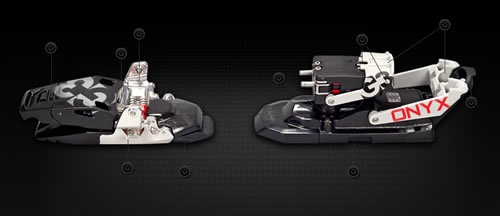 G3 Onyx Alpine Touring Ski Bindings