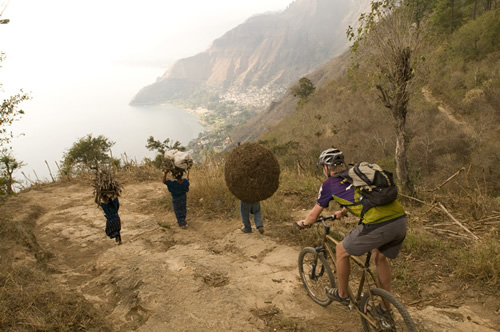 Guatemala Mountain Biking Tour - Sunset