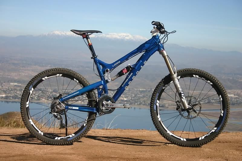 2009 Intense Uzzi VP - New Mountain Bike