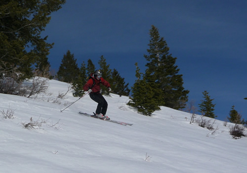 Backcountry Skiing in American Fork Canyon - Jason Mitchell