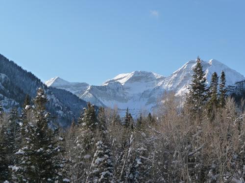 Mt Timpanogos - Winter - Jan 29, 2009