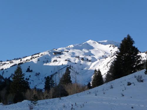 White Baldy in Winter