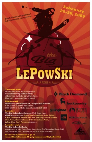 Black Diamond Presents The Big LePowSki 2009