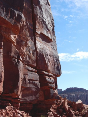 Climbing Utah's Indian Creek - Photo by Trina Ortega