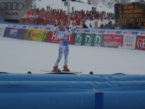 Lindsey Vonn - 2009 Audi FIS World Cup Super G Champion