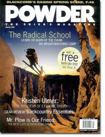 Powder Magazine - I still miss Steve Casimiro's Intros!