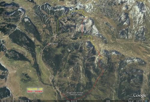 Super Backcountry Ski Tour in Big Cottonwood Canyon - Utah Backcountry Skiing