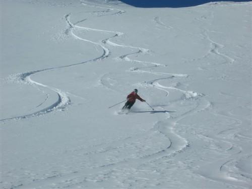 Turns off Mt. Wolverine - Utah Backcountry Skiing