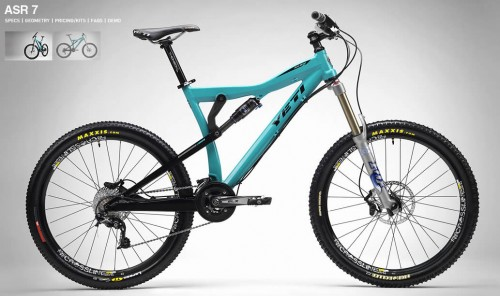 2009 Yeti ASR-7 Mountain Bike