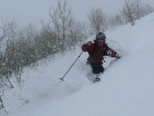 Backcountry.com Stoic eVent Shell - Jason Mitchell in South Fork Provo Canyon
