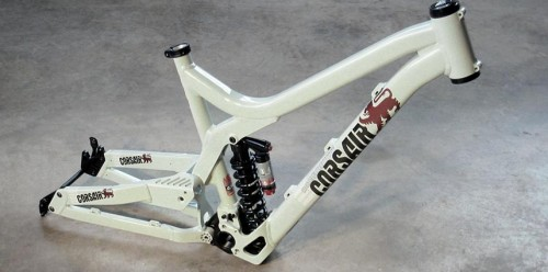 2009 Corsair Maelstrom - Freeride Mountain Bike Frameset