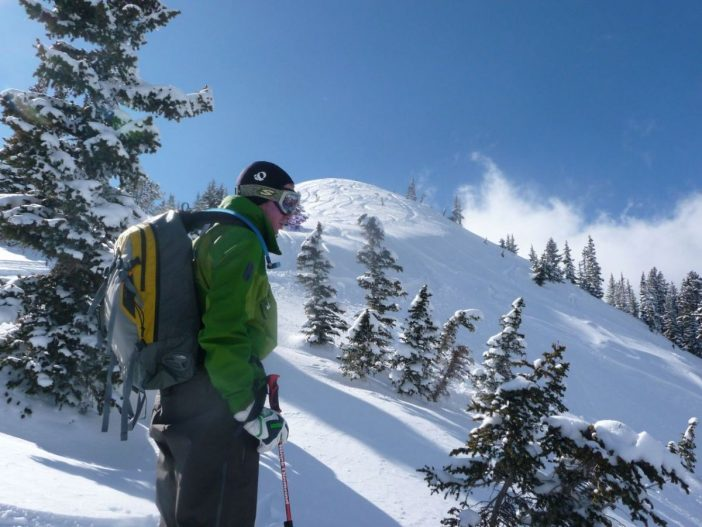 Backcountry Skiing - Brandon Contemplates