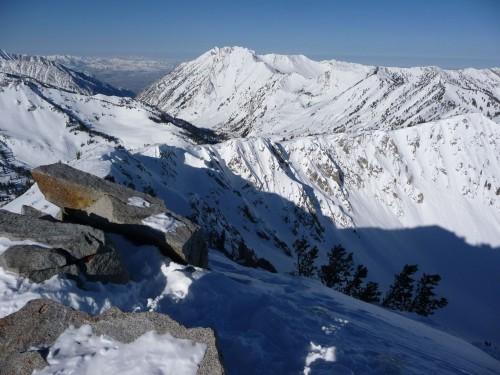 Top of Mt. Wolverine, Utah - Winter