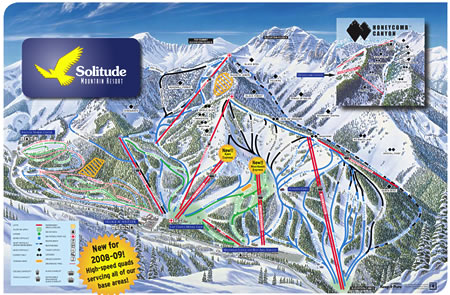 Solitude Mountain Resort Trailmap Thumbnail