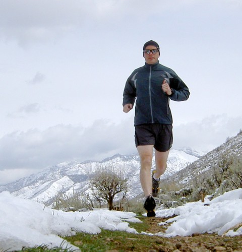 Asolo Prolix XCR Trail Running Shoes Review - Jason Mitchell on Bonneville Shoreline Trail in Draper, Utah