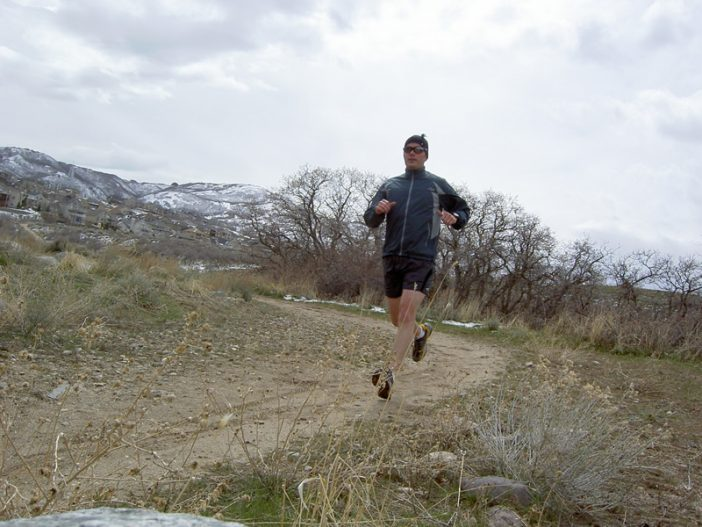 Trail Running in Draper Utah - Testing the Suunto t4c and Asolo Prolix XCR
