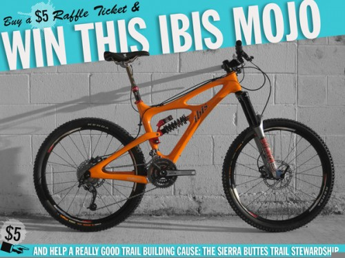Support Sierra Singletrack & Win an Ibis Mojo