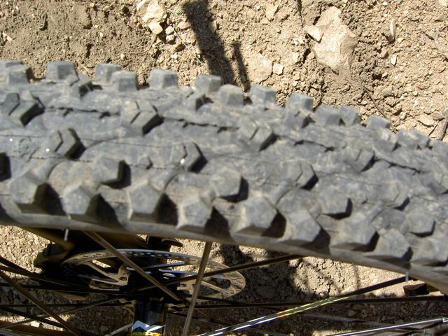 Maxxis Ignitor Tire Review - Tread Pattern